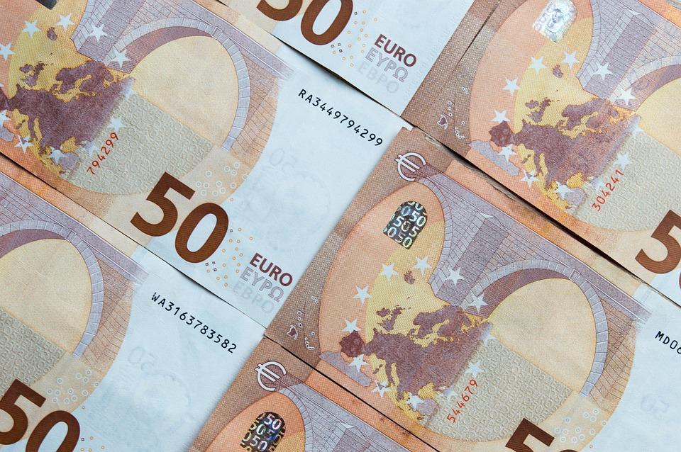 Money, Euro Banknotes, Euro, Finance, Business
