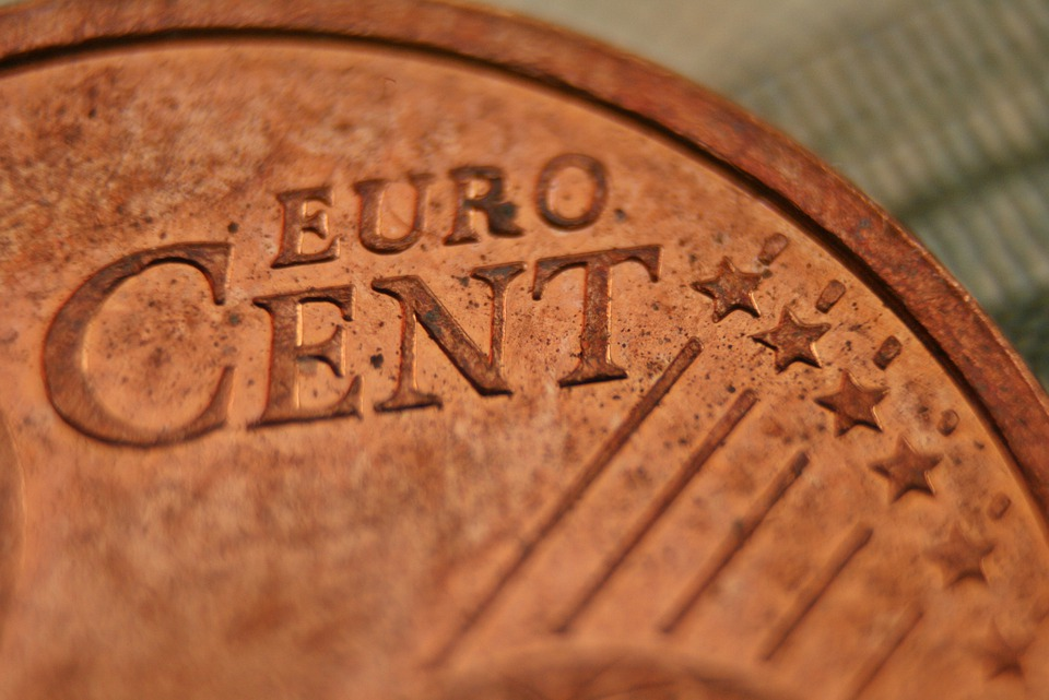 Euro Cents, Money, Euro, Currency, Coins, Metal, Copper