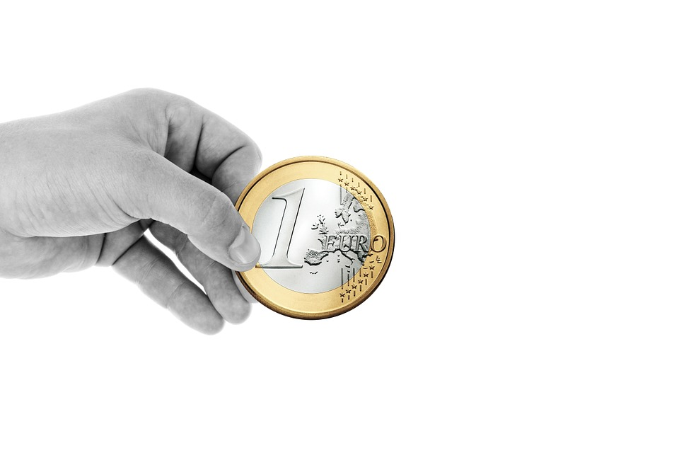 Hand, Keep, Finger, Euro, Coin, Money, Currency