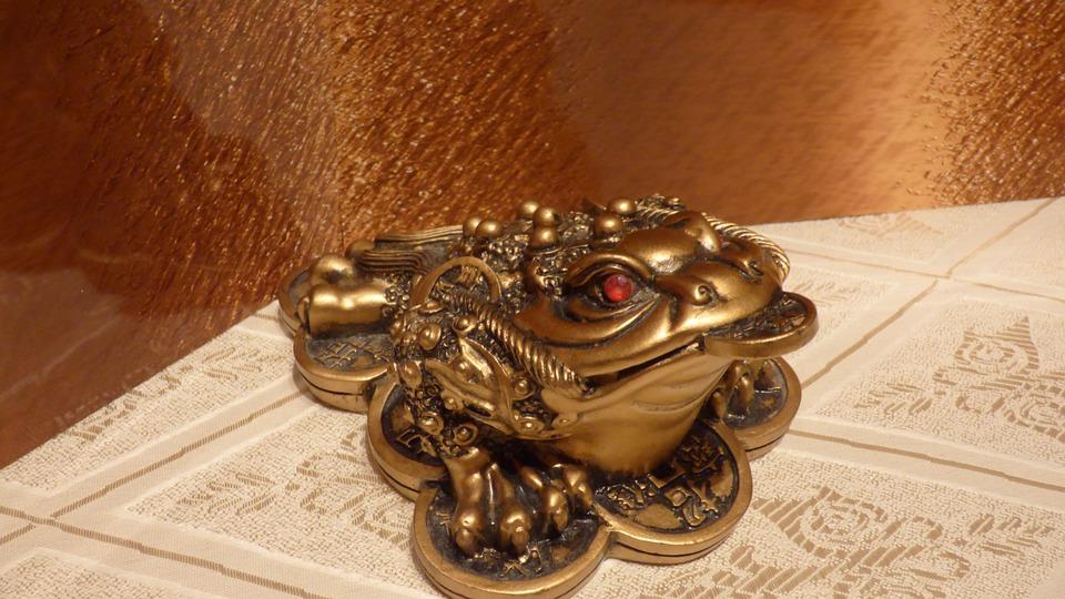 Frog, Happiness, Money