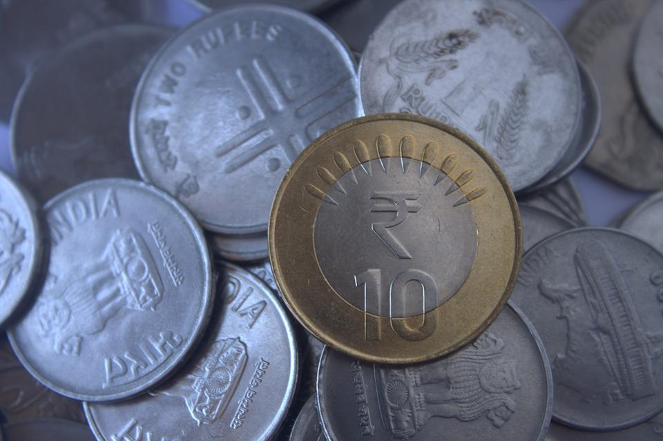 Rupees, India, Indian, Coins, Currency, Money, Finance