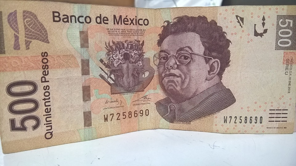 Ticket, Money, Mexican Peso