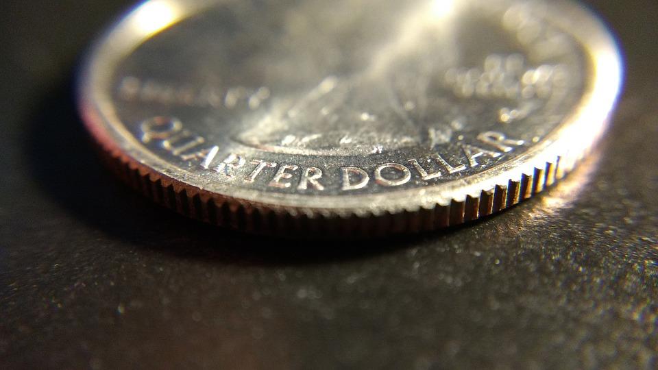 Coin, Quarter, Money