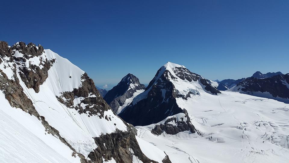 Eiger, Monk, Bernese Oberland, Switzerland, Alpine
