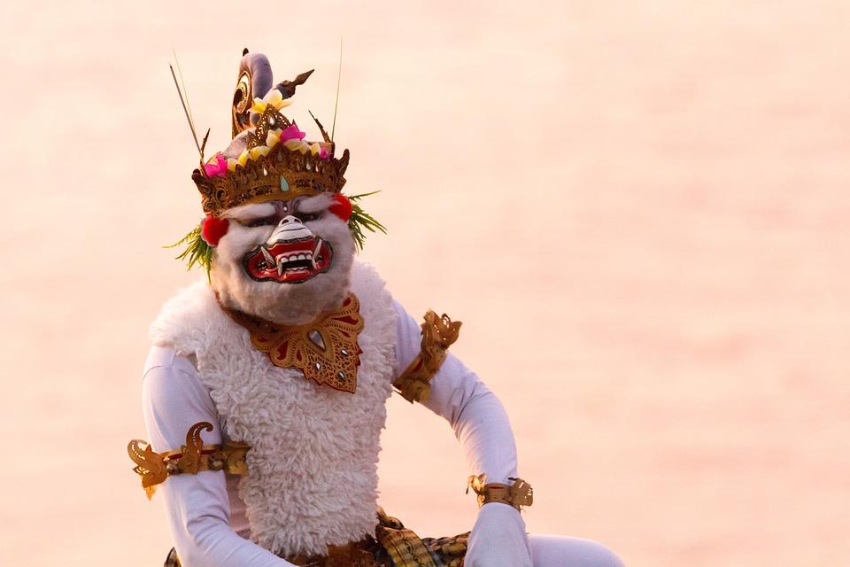 Bali, Monkey, Hanuman, Indonesia, Travel, Traditionally