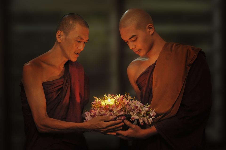 Free photo Buddhist Old Nun Nun Temple Theravada Buddhism - Max Pixel