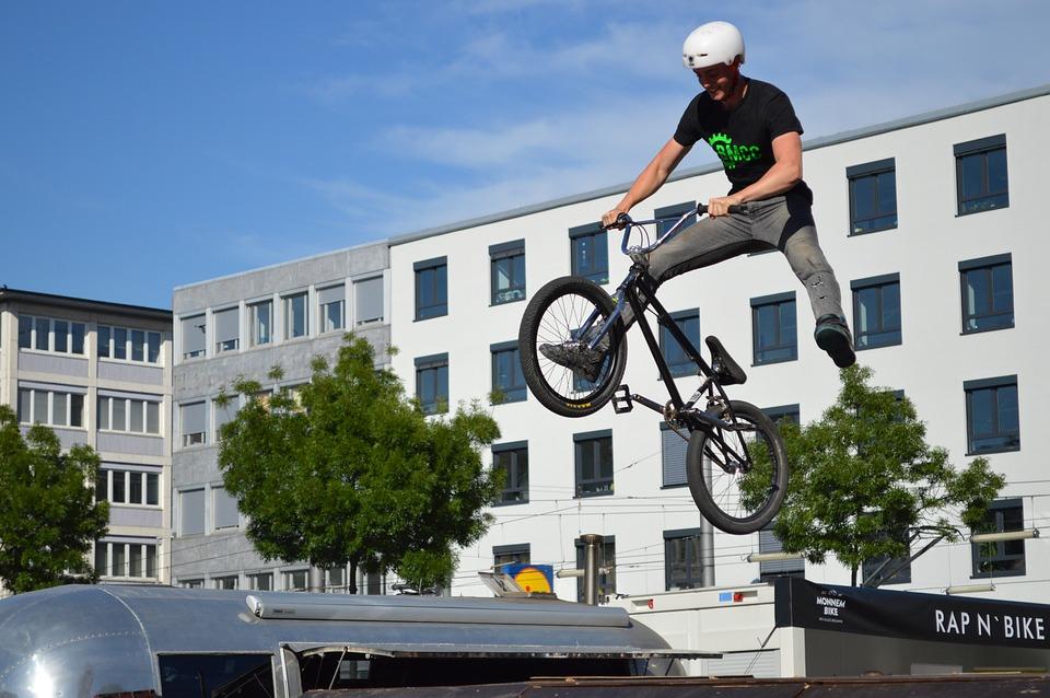 Bmx, Monnem Bike, Jump, Bike