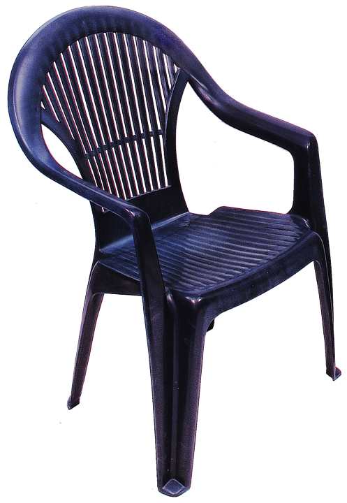 Chair, Monobloc, Injection Molding, Polypropylene, Seat