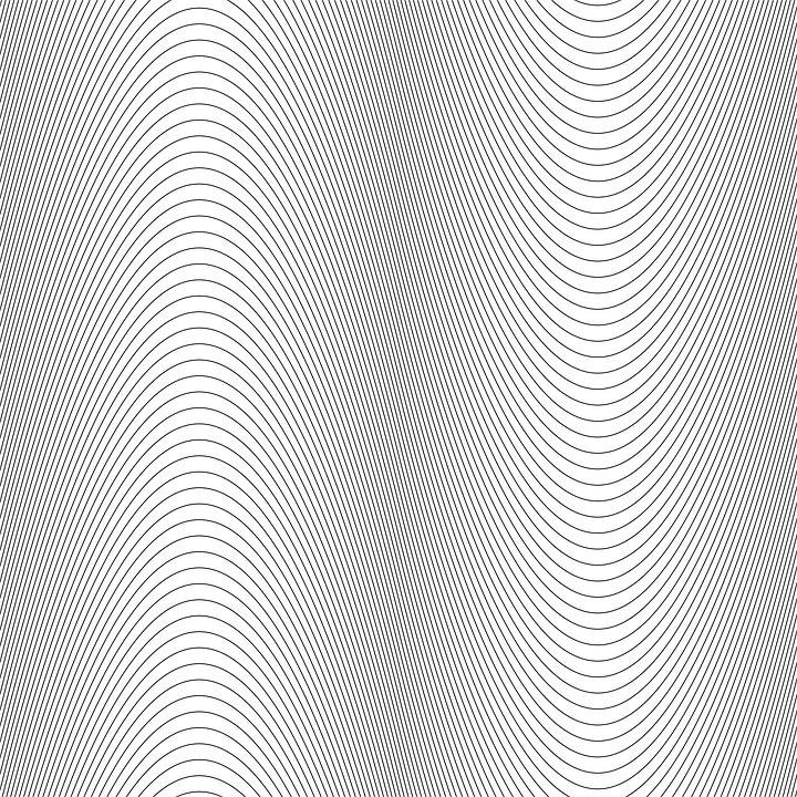 Monochrome, Curve, Line, Pattern, Wave, Background