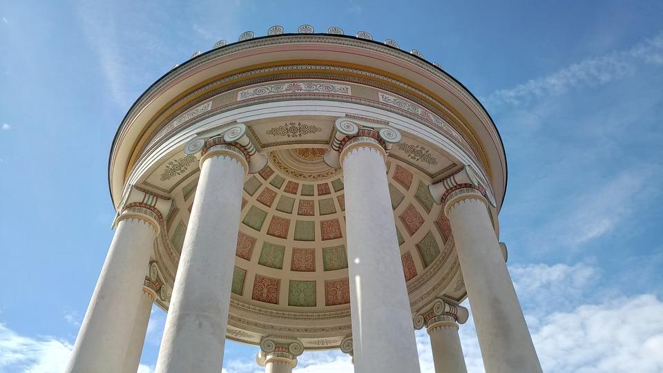 Munich, Temple, Monopteros, English Garden, Monument