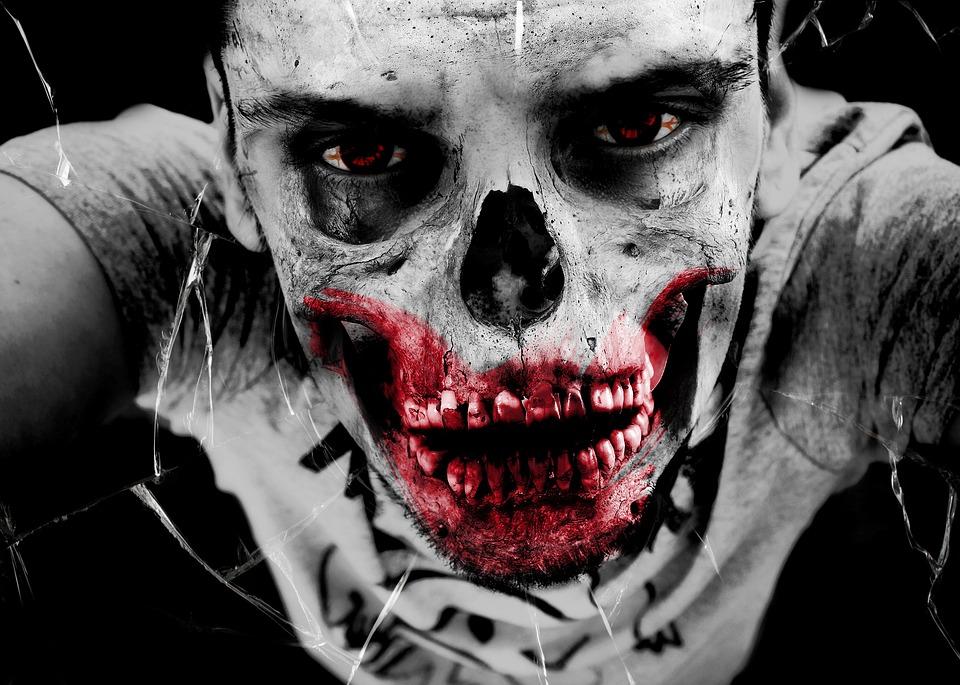 Zombie, Horror, Monster, Bone, Death, Injured, Accident