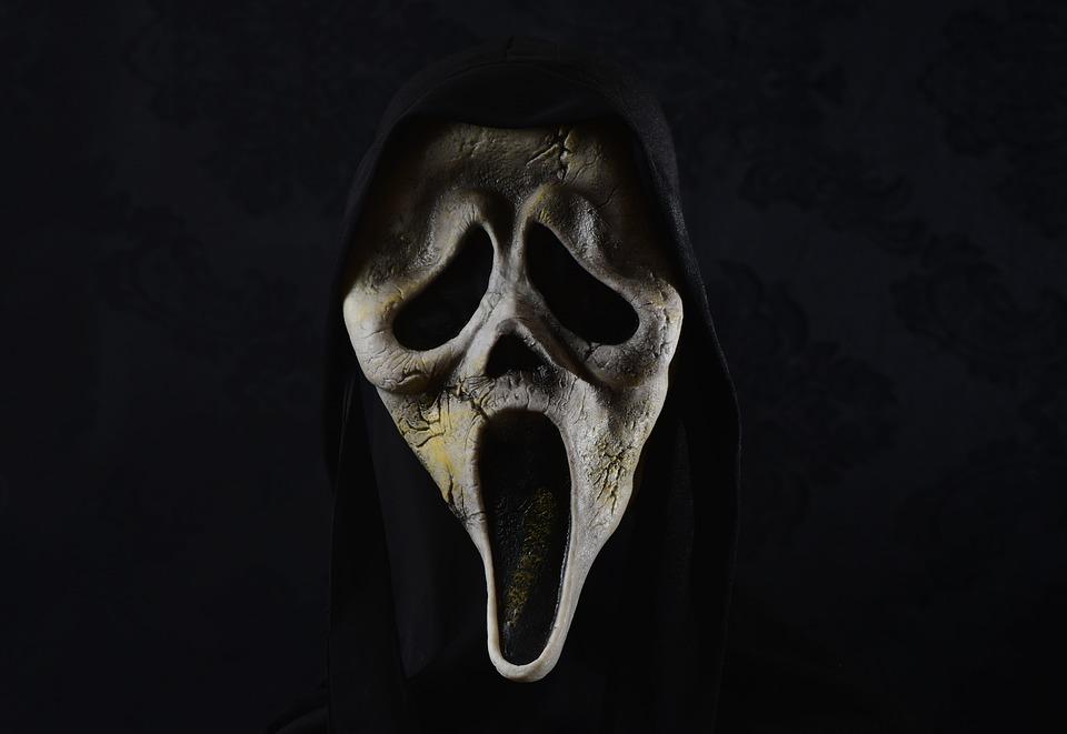 Mask, Horror, Scream, Creepy, Monster, Evil, Weird
