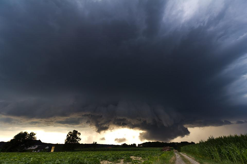 Super Cell, Monster, Hail Storm, Wall Cloud