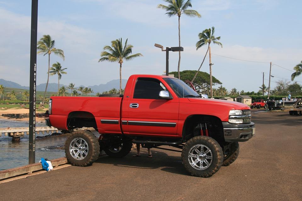 Monster Truck, Big Wheels, Monster, Truck, Power