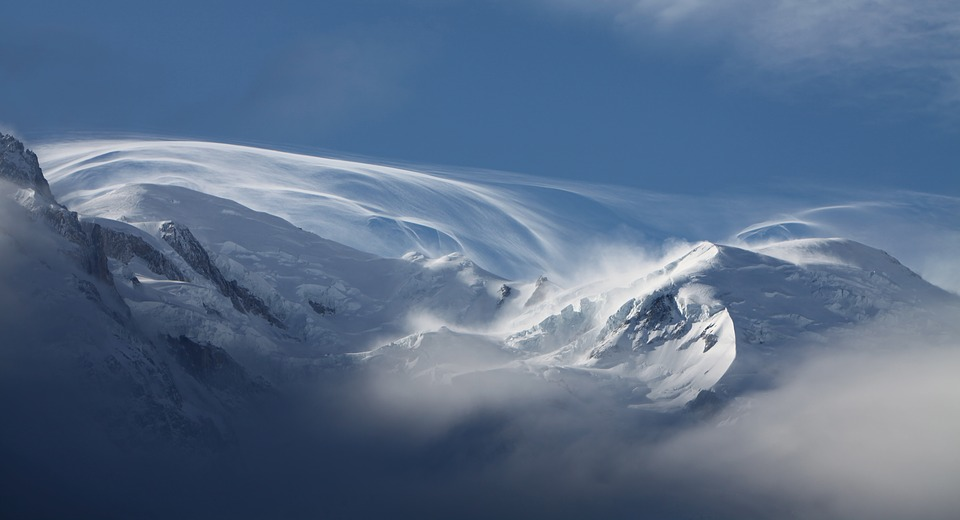 Snow, Mont Blanc, Mountains, Chamonix, Nature