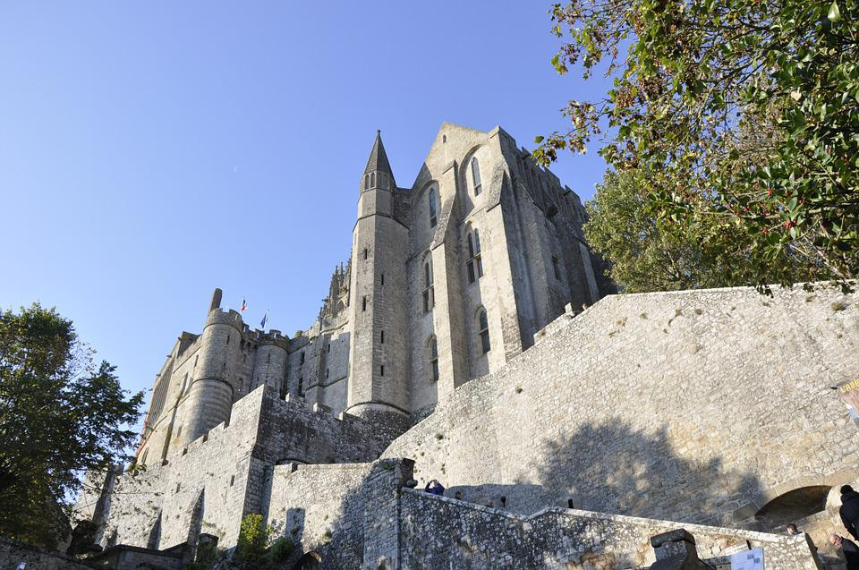 Brittany, Mont Saint Michel, Pierre History, Staircase