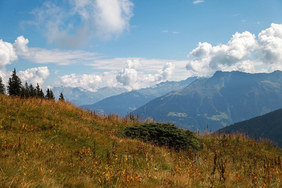 Golm, Montafon, Austria, Golm Railway, Mountains