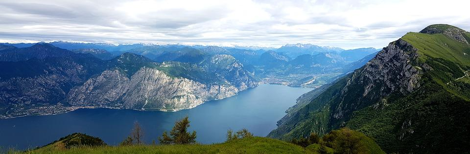 Monte Baldo, Mountains, Hike, Garda, Panorama, Italy