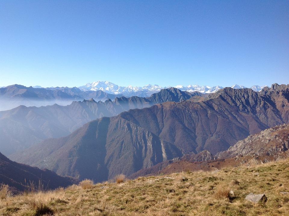 Mountain, Monte Rosa, Landscape, Autumn, Piancavallo