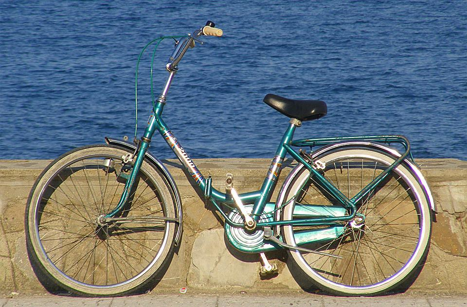 Bicycle, Beach, Waterfront, Walk, Montegiordano Marine