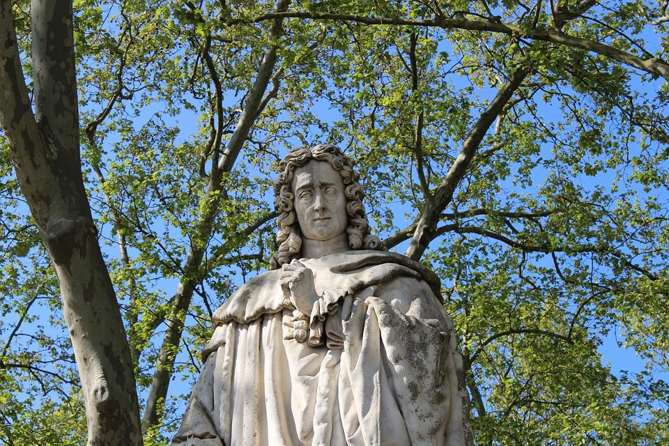 Montesquieu, Philosopher, Bordeaux, Monument, Statue