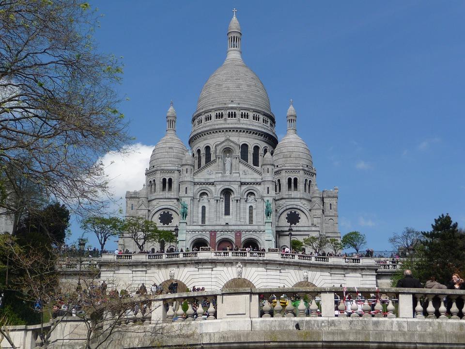 Sacré Coeur, Paris, Church, France, Montmartre