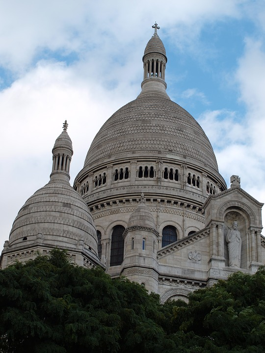 Sacré-coeur, Monument, Montmartre