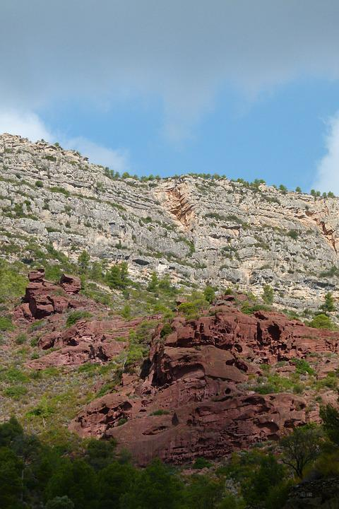 Montsant, Natural Park, Red Sandstone, Priorat