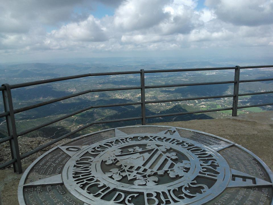 Montserrat, Peak, Barcelona, Top