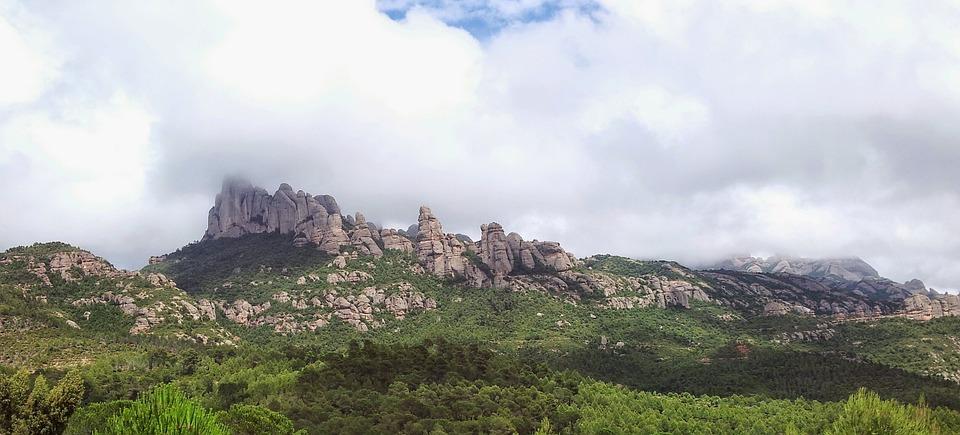 Montserrat, Mountain, Virgin Mary, Moreneta