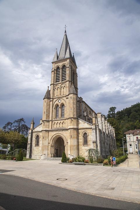 Church, Monument, Architecture, France, Chapel, Cross