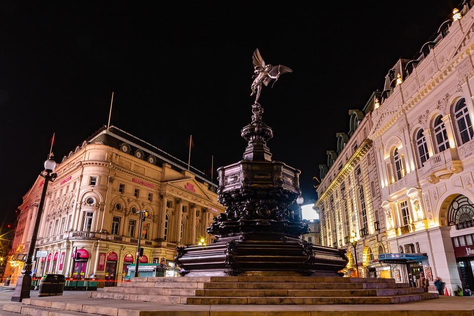Sculpture, Monument, Eros Statue, Arrow, Landmark