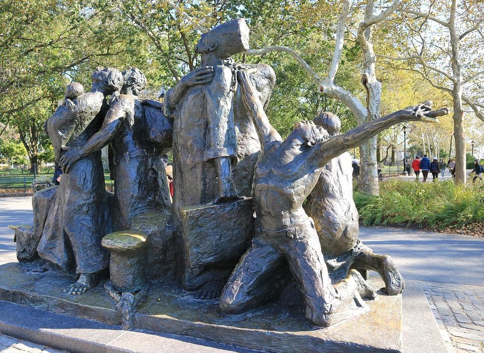Sculpture, Statue, Old, Travel, Art, Monument, Park