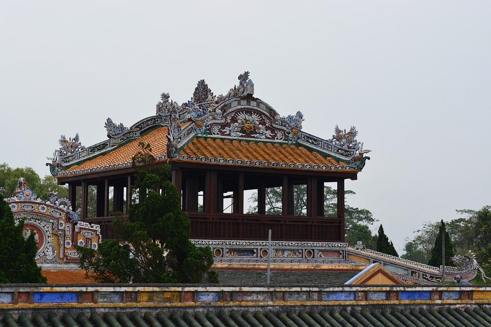 Viet Nam, Monument, Sculpture, Building, Nature