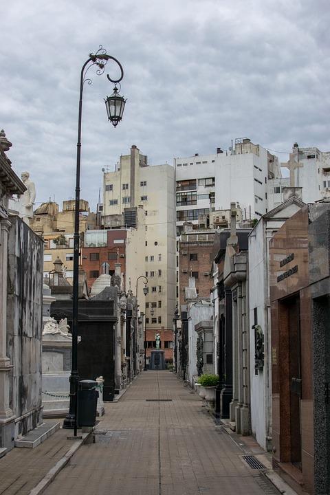 Buenos Aires, Recoleta, Cemetery, Argentina, Monument