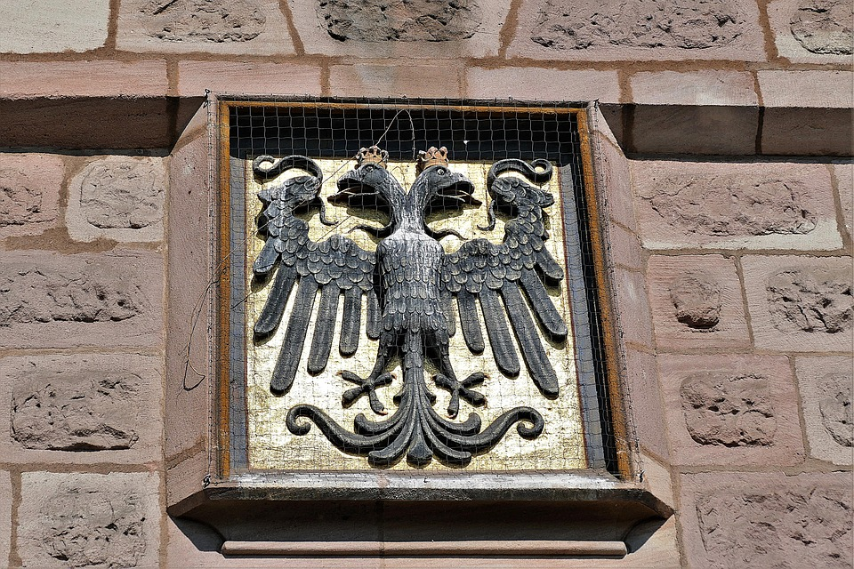 Coat Of Arms, Stone, Wall, Monument, Facade, Emblem