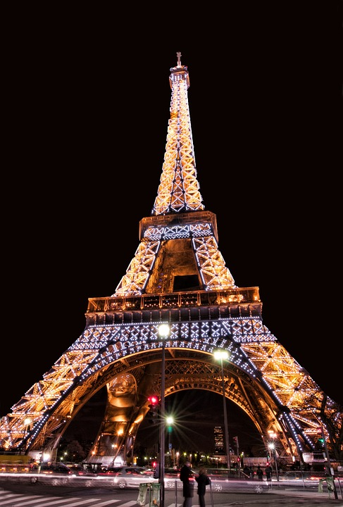 Eiffel Tower, Monument, Paris, France, Tower