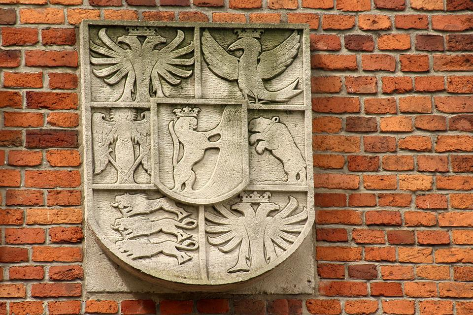 Coat Of Arms, Emboss, Historical, Emblem, Monument