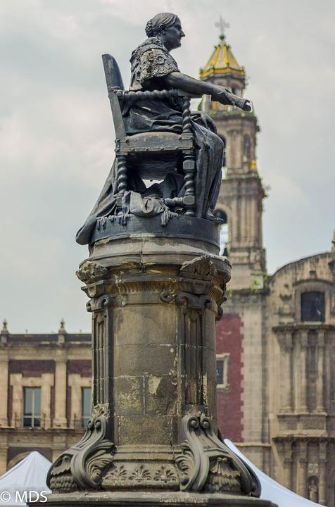 Monument, Statue, Mexico, Sculpture, Figure, Women