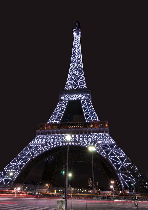 Eiffel Tower, Monument, Paris, France, Tower