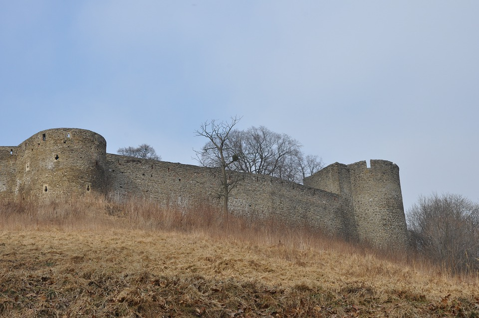 Castle, Monument, Architecture, Hill, Helfstyn
