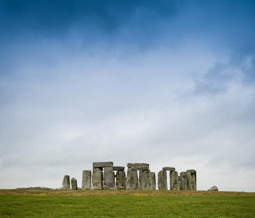 Stone Henge, Landscape, Ancient, Heritage, Monument
