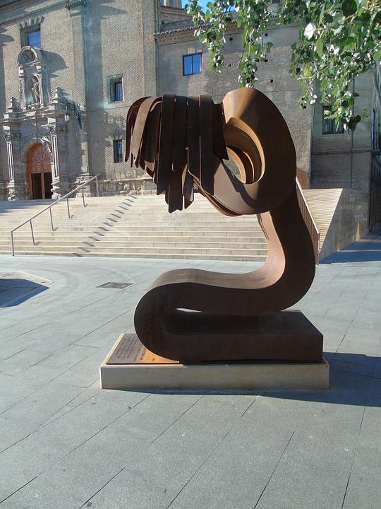 Statue, Women, Sculpture, Figure, Monument, Iron, Metal