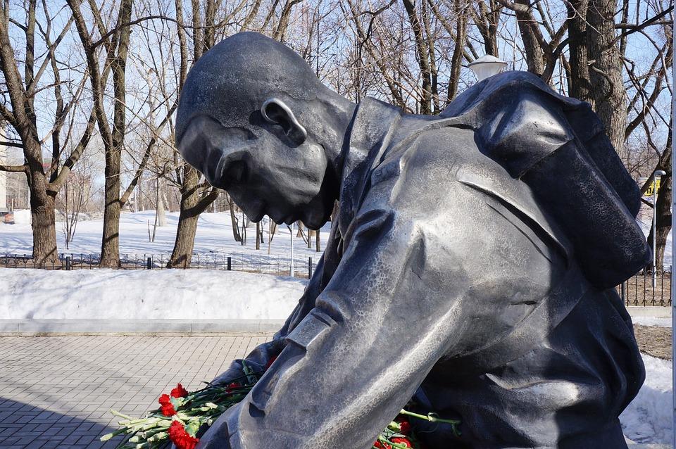 Soldier, Monument, Afghanistan, Kirov, Memory