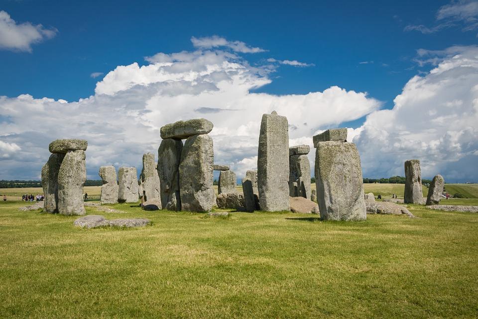 Landscape, Stonehenge, England, Sky, Monument, Ancient