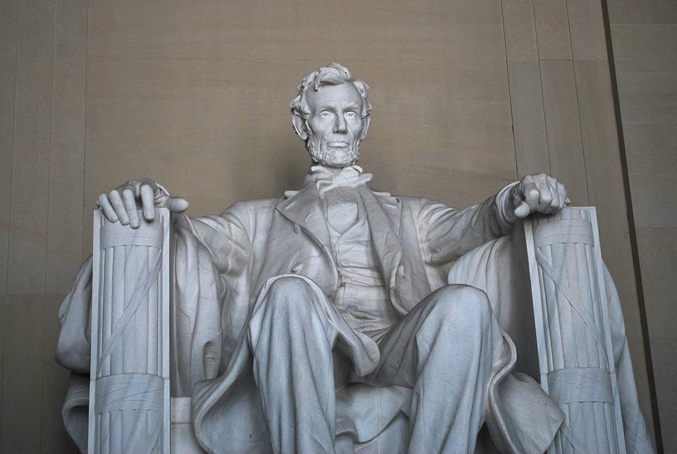 Lincoln Memorial, Statue, Monument, Landmark