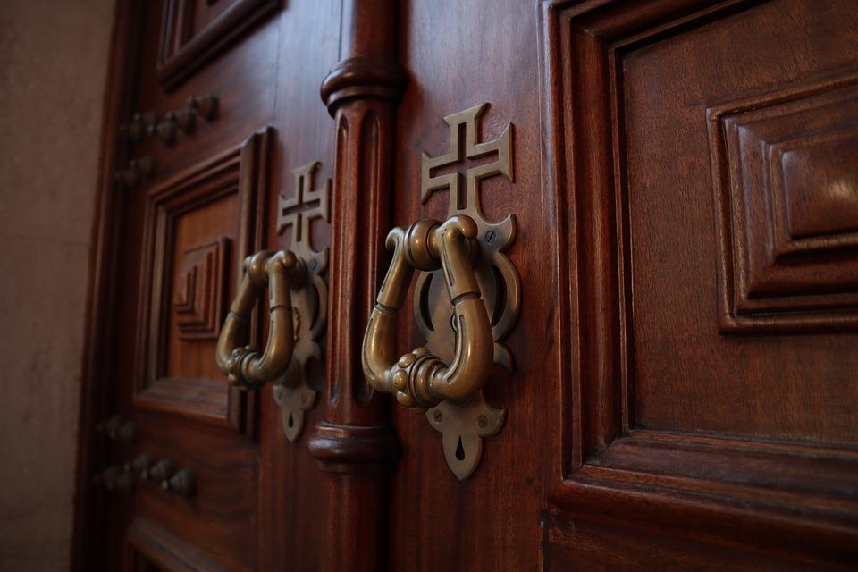 Door, Fatima, Portugal, Monument, Palace, Doors, Key
