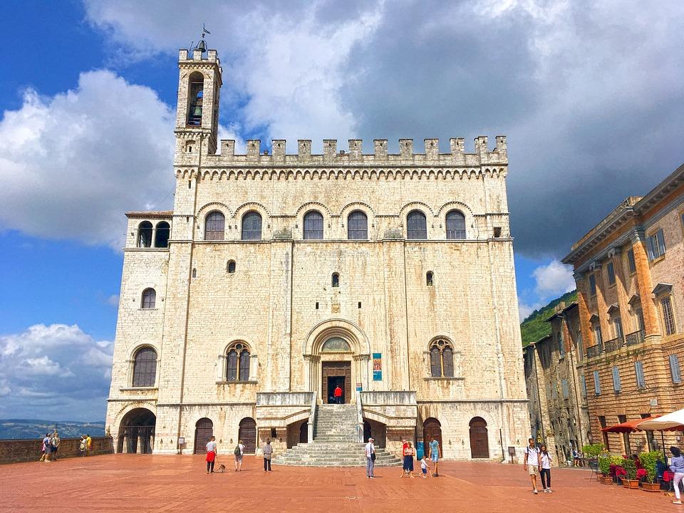 Palazzo, Monument, The Palazzo Dei Consoli, Gubbio