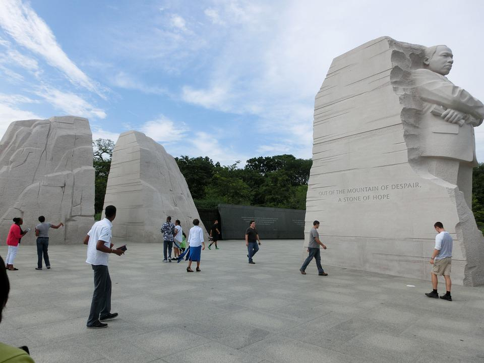 Martin Luther King, Places Of Interest, Monument, Usa