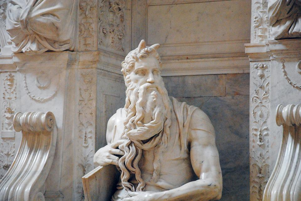 Rome, Monument, Moses